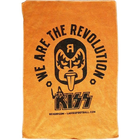 LA KISS Orange Rally Towels