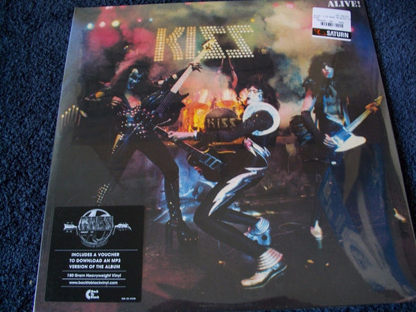 Kiss Alive German Logo Brand New