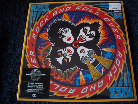Kiss Rock and Roll Over LP German Logo