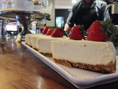 New York Style Cheesecake at Daylight Mind