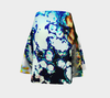 Bubble Flower Flare Skirt 2-Flare Skirt--Zac Z