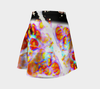 Bubble Flower Flare Skirt 3-Flare Skirt--Zac Z
