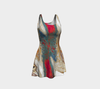 Lines and Illusions Flared Dress 2-Flare Dress--Zac Z