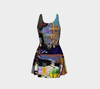 Looking Through the Hour Glass Flare Dress 2-Flare Dress--Zac Z