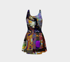 Looking Through the Hour Glass Flare Dress 4-Flare Dress--Zac Z