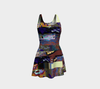 Looking Through the Hour Glass Flare Dress 5-Flare Dress--Zac Z