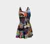 Looking Through the Hour Glass Flare Dress 6-Flare Dress--Zac Z