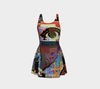 Looking Through the Hour Glass Flare Dress-Flare Dress--Zac Z