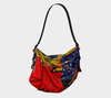Meandering Colours and Spots of Time Origami Bag 2-Origami Tote--Zac Z