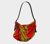 Meandering Colours and Spots of Time Origami Bag 5-Origami Tote--Zac Z