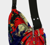 Meandering Colours and Spots of Time Origami Bag 6-Origami Tote--Zac Z