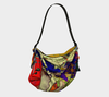 Meandering Colours and Spots of Time Origami Bag-Origami Tote--Zac Z