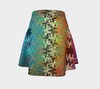 Tin Can Squiggle Flare Skirt 3-Flare Skirt--Zac Z