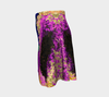 Wind Drawn Texture Flare Skirt 2-Flare Skirt--Zac Z