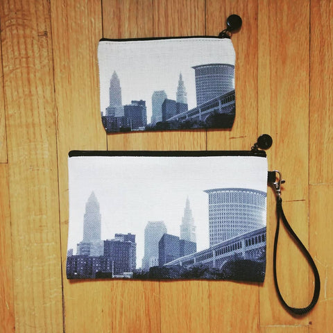Cleveland Skyline Cosmetic Bag