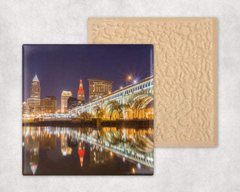 Cleveland Night Coaster Set