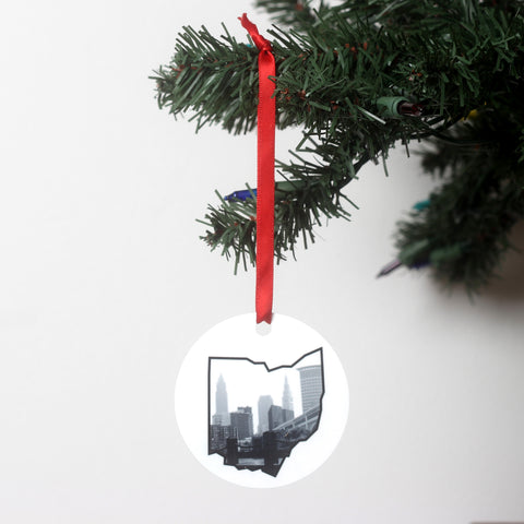 Cleveland Ohio Ornament