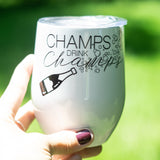 Champs drink Champs Stemless Wine Tumbler