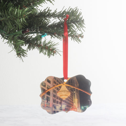 Playhouse Square Wood Ornament