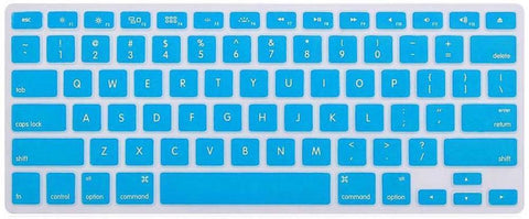 "CrystalGuard Peripherals Default Crystal Guard Keyboard Protector 13""  - Light Blue"