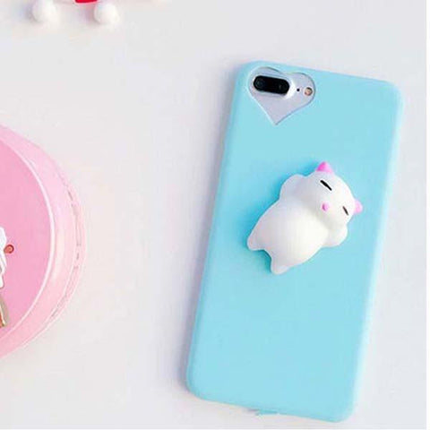 Smile IT SC Phone Cases Blue / For iphone 6 6s Squishy Phone Case for iPhone