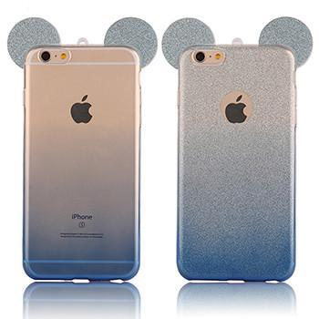 Smile IT SC Phone Cases Blue Gradient / For Iphone 5 5S SE Mouse Ears Case for iPhone