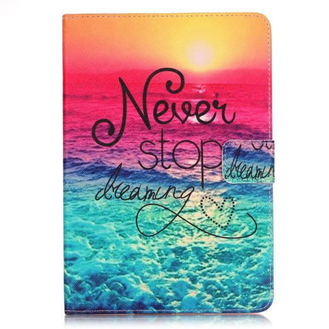 Smile IT SC Sea and Sun Leather Flip Case for iPad Air 9.7