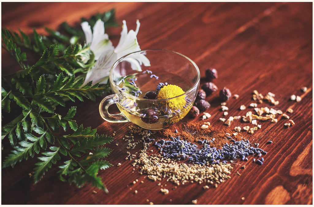 Herbs for thyroid support