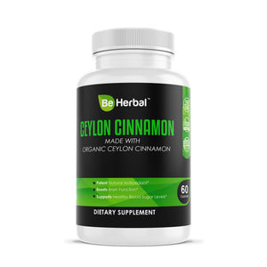 Ceylon Cinnamon 1200mg Herbal Supplements Be Herbal®