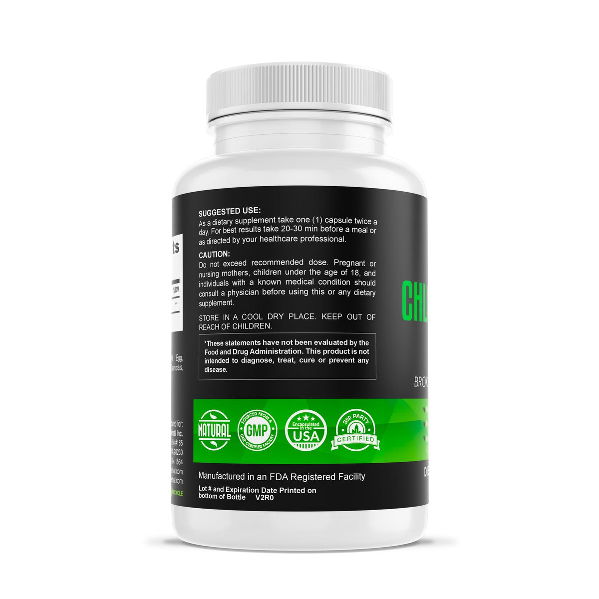 Chlorella 500mg - Clean Superfood Herbal Supplements Be Herbal®