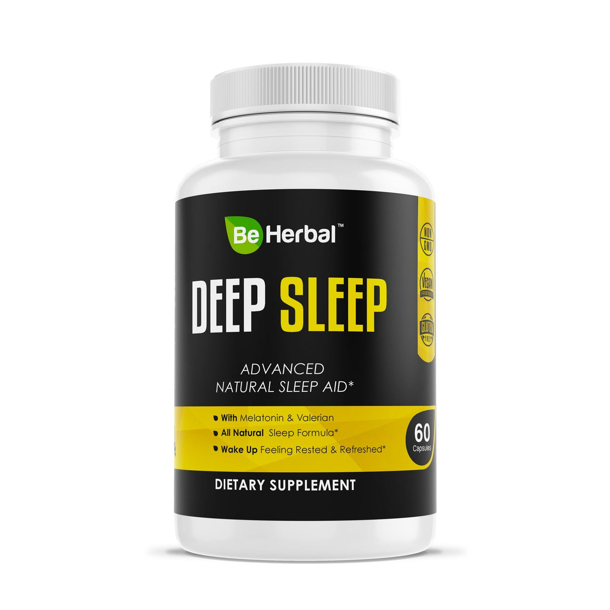 Deep Sleep - Natural Sleep Aid Herbal Supplements Be Herbal®