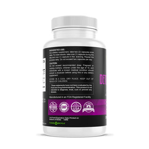Detox Complex - Advanced formula with Acai Berry Extract Herbal Supplements Be Herbal®