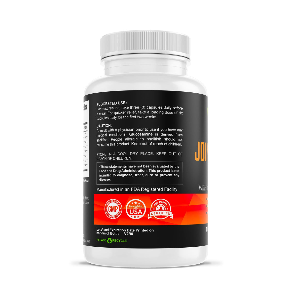 Advanced Joint Support Complex Herbal Supplements Be Herbal®