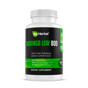 Moringa Leaf 800mg Herbal Supplements Be Herbal®