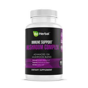 Immune Support Mushroom Complex - Advanced 10X Blend