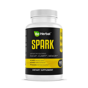 Spark - Cognitive Support Formula Herbal Supplements Be Herbal®