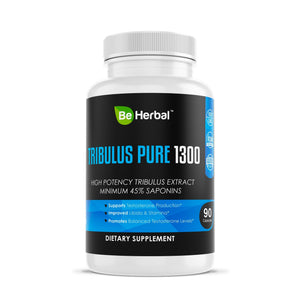 Tribulus Pure - High Potency Tribulus Herbal Supplements Be Herbal®