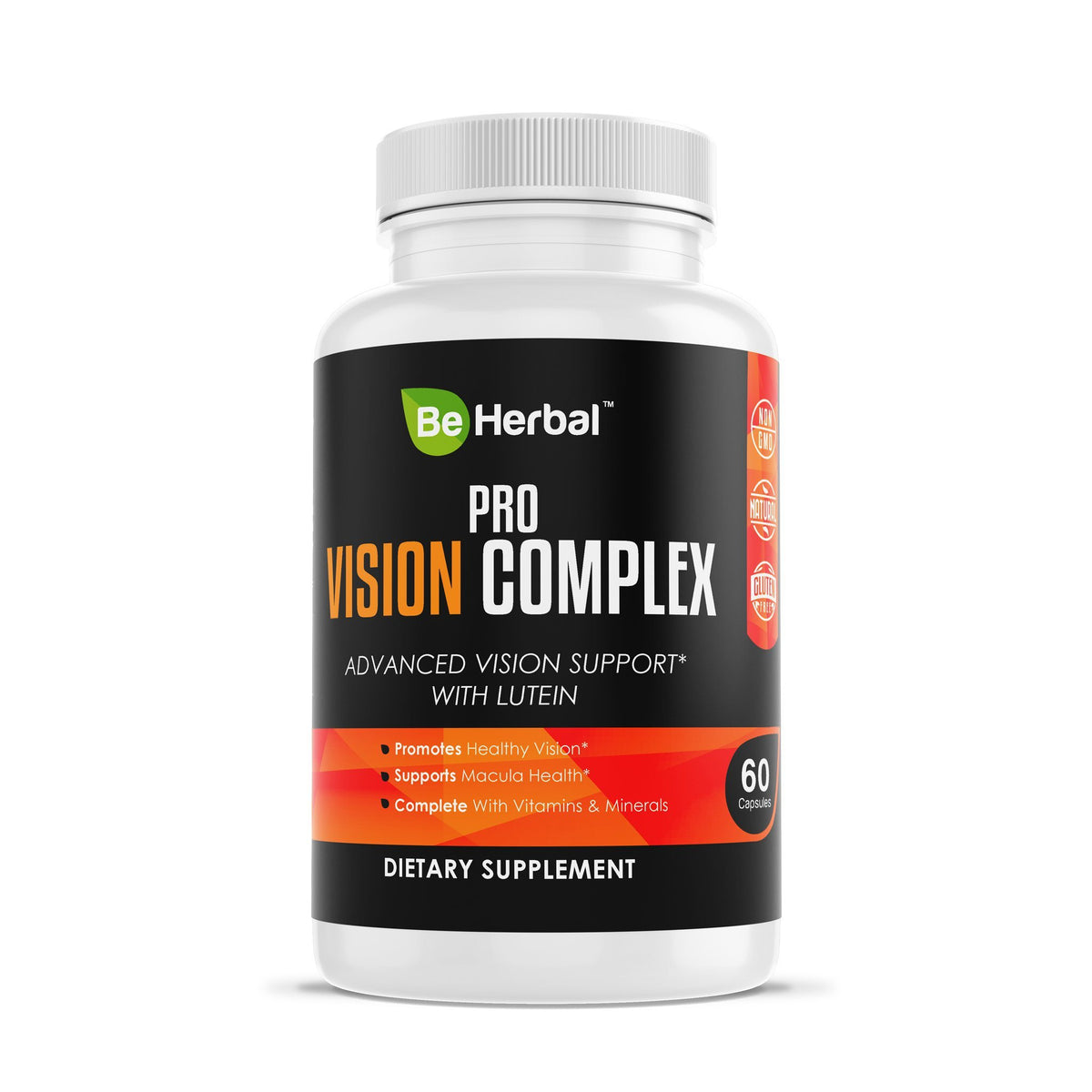 Pro Vision Complex - Advanced Vision Support with Lutein Herbal Supplements Be Herbal®