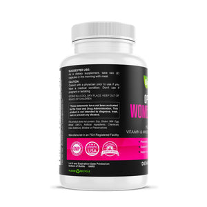 Optimized Women's Multivitamin Herbal Supplements Be Herbal®