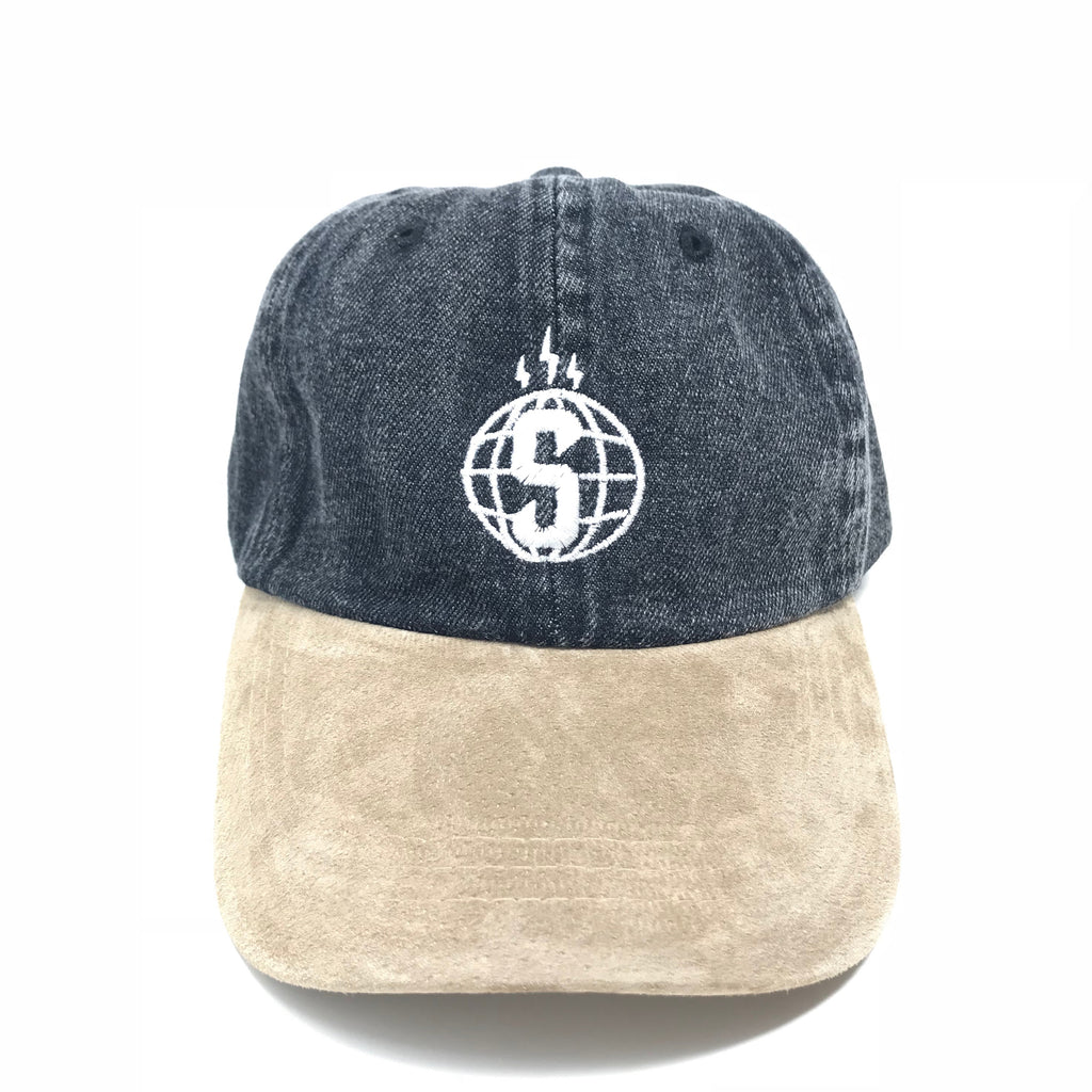 Sheeesh Logo Denim Hat - Black