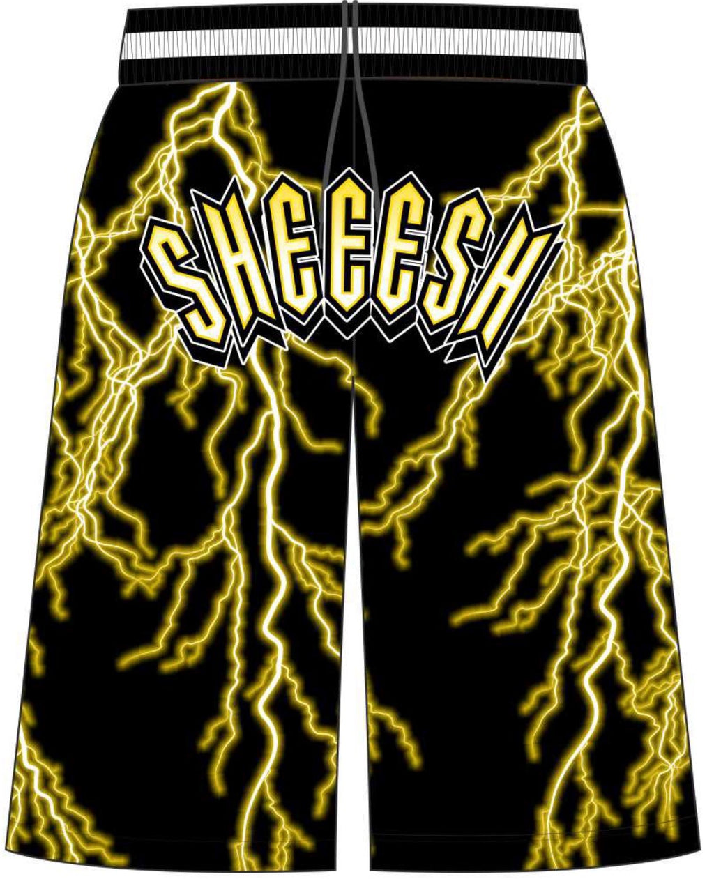 High Voltage Shorts - Black