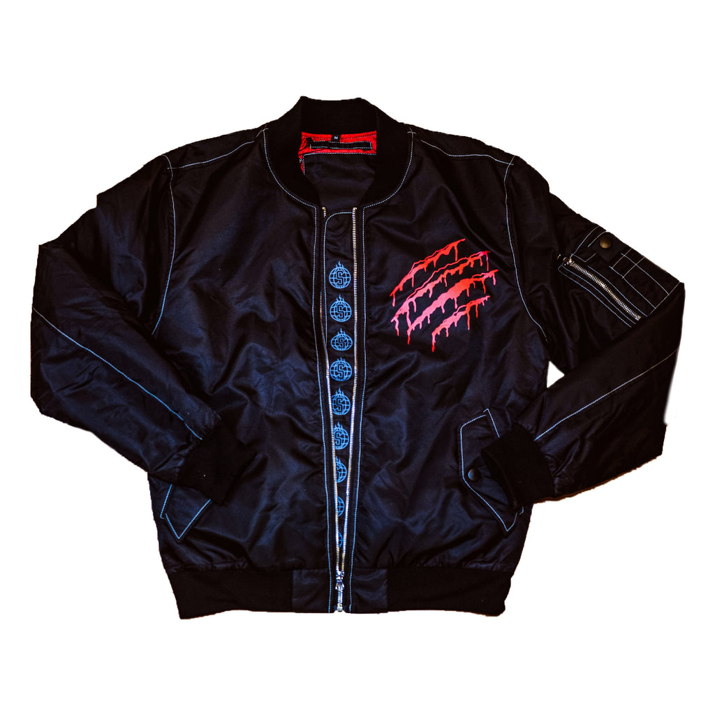 Sheeesh Bomber Jacker - Black