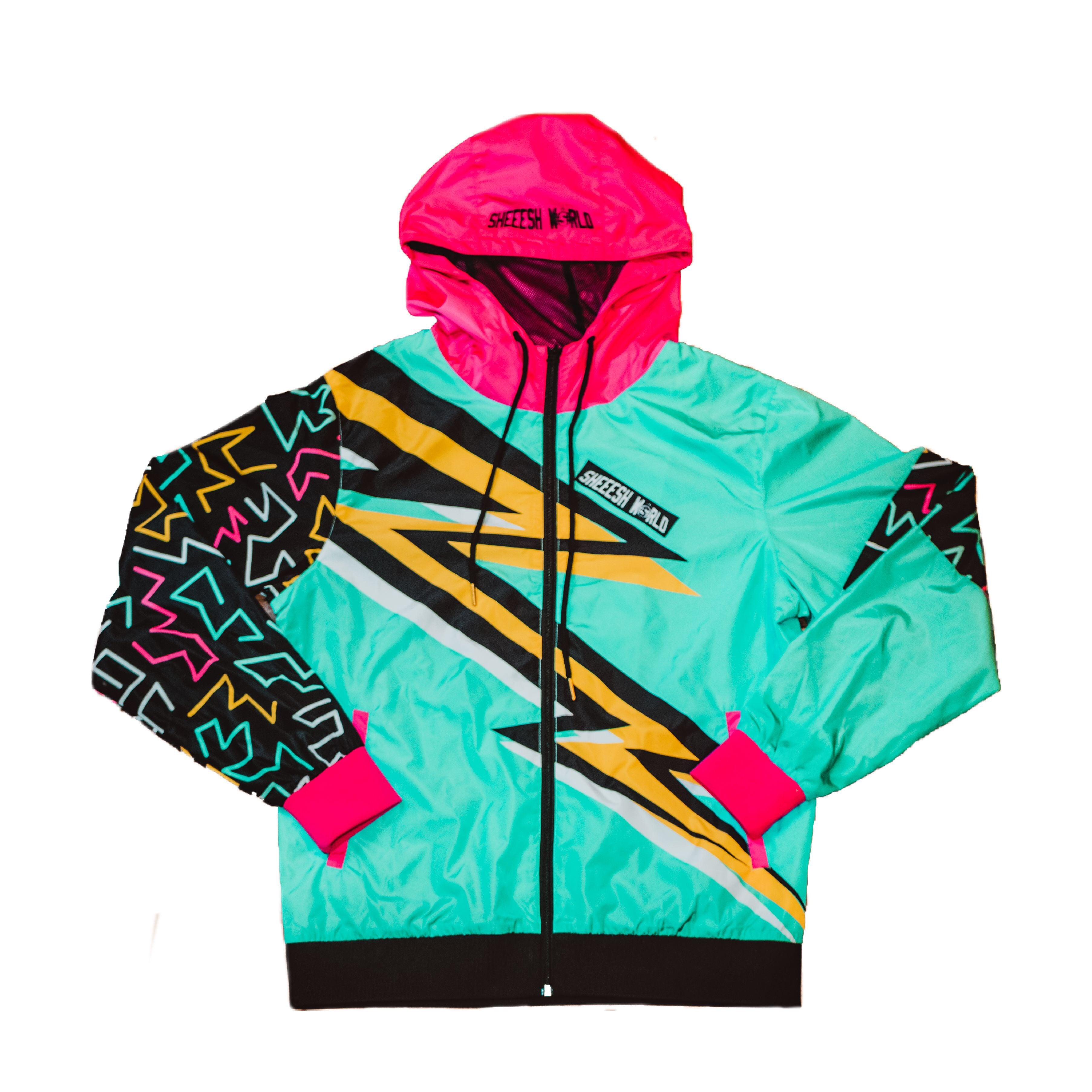 Big Bolt Wind Breaker - Multi