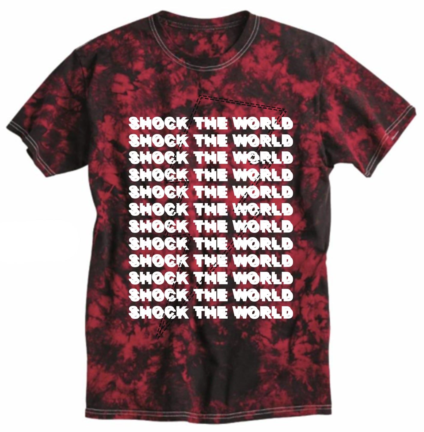 Shock The World - Red Tie Dye