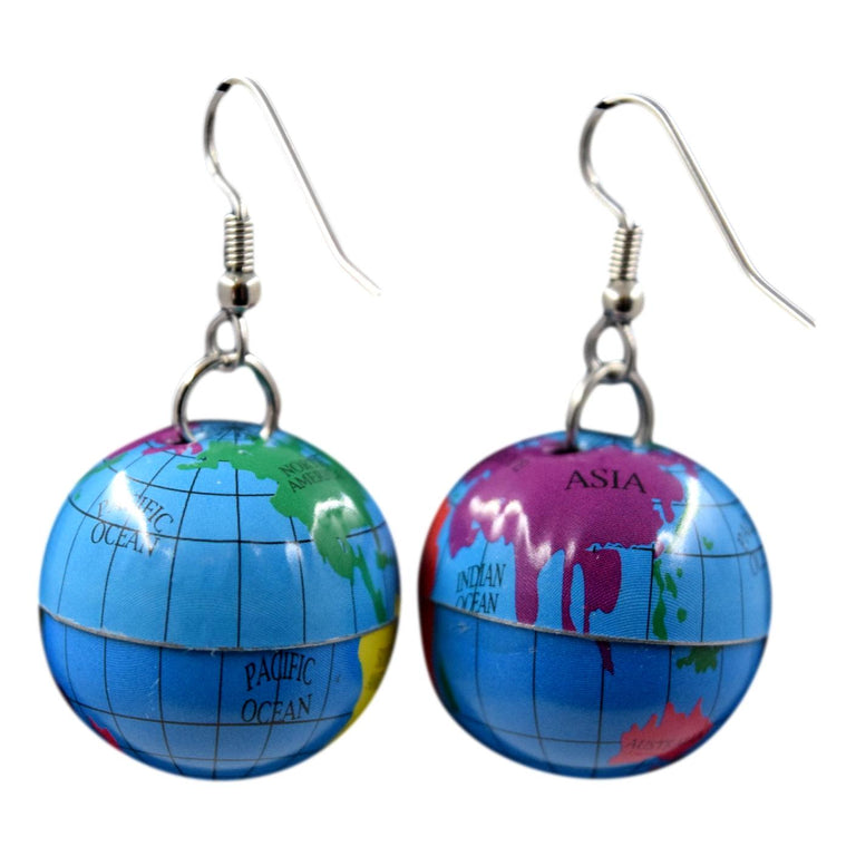 Vintage Globe Earrings
