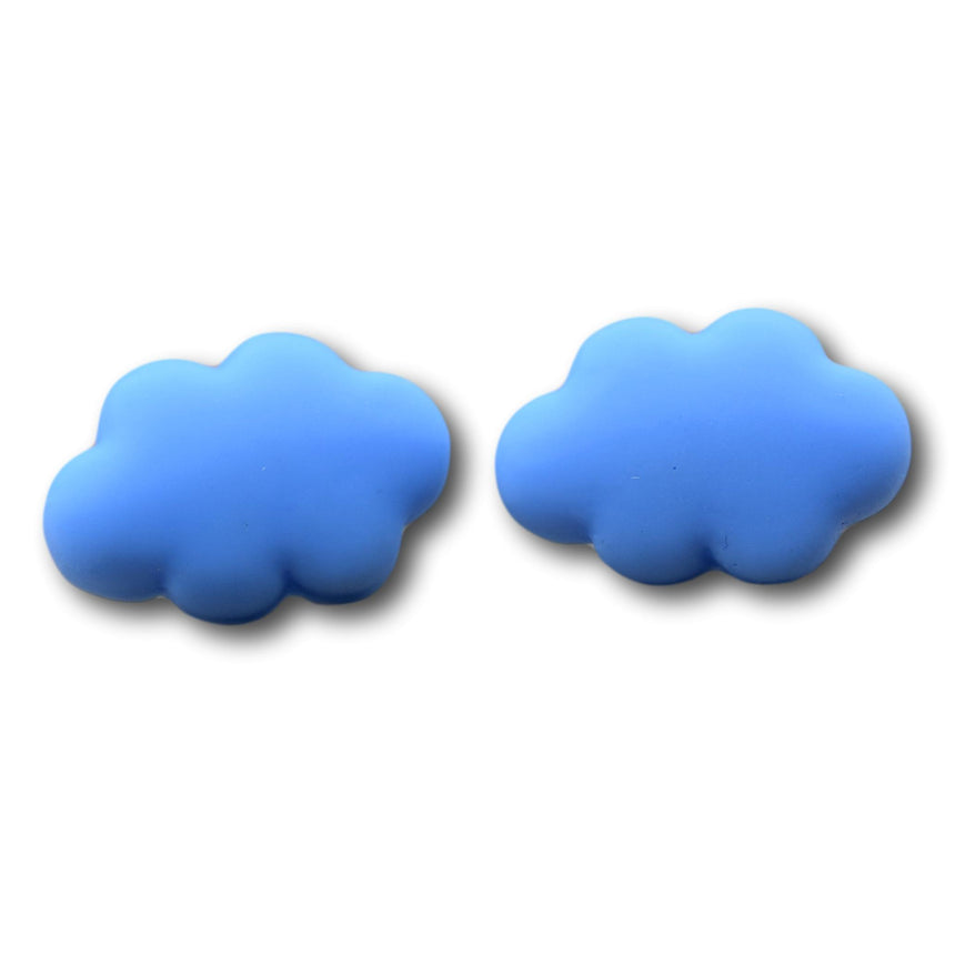 Blue Cloud Stud Studs