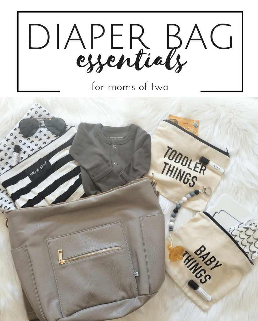 Diaper Bag Essentials for Moms of Two