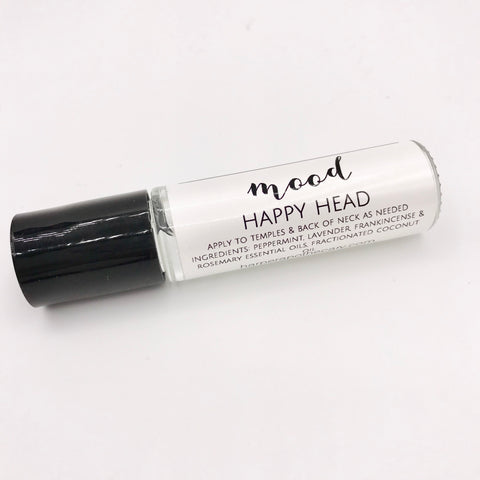 Happy Head Mood Oil / Aromatherapy Blend