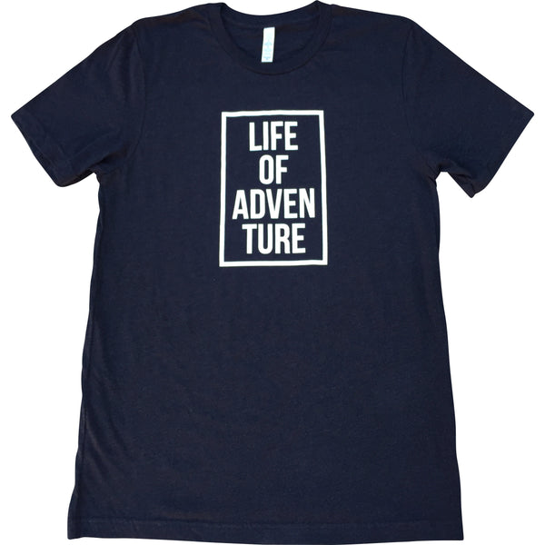 Mens Life of Adventure Tee - Always CA