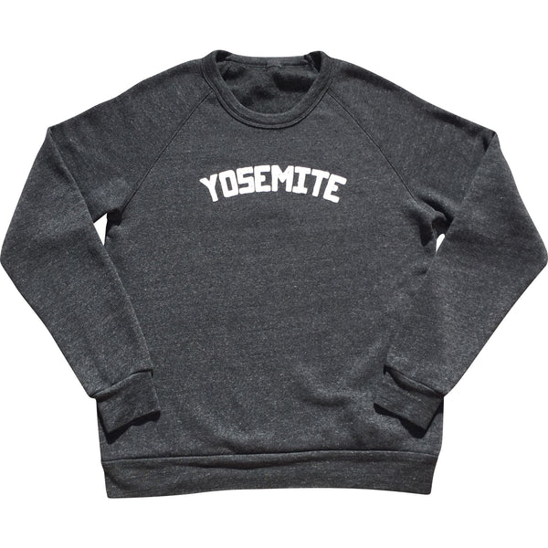 Unisex Yosemite Eco-Fleece Sweatshirt - Always CA